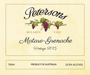 2015 Mataro - Grenache