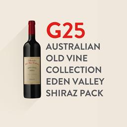 G25 Australian Old Vine Collection Eden Valley Shiraz