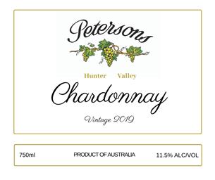 2019 Vintage Chardonnay