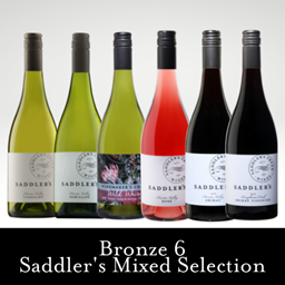 Spring 2021 Bronze 6 Winemaker's Saddler's MIXED Selection CE$144 (RRP$192) Option 1