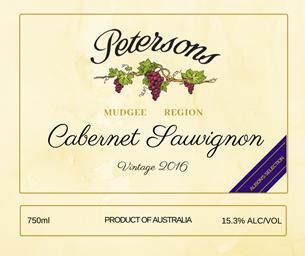 2016 Mudgee Cabernet Sauvignon - Alison'sSelection