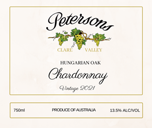 2021 Hungarian Oak Chardonnay - Clare Valley