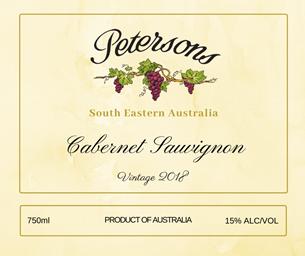 2018 Cabernet Sauvignon - South Eastern Australia