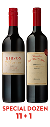 11 + 1 2018 Reserve Shiraz + 2016 Australian Old Vine Collection Barossa Shiraz