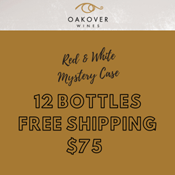 $75 Red & White Wine Mystery Case