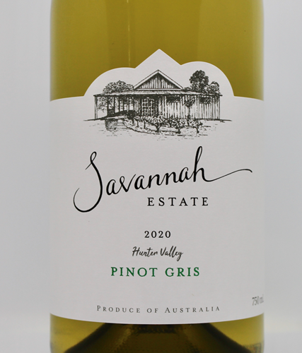 2021 Hunter Valley Pinot Gris