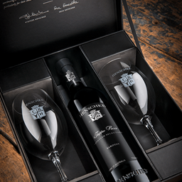 Gifting - Riedel Glassware Gift Box and Henschke Wine