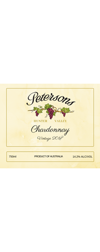 2018 Vintage Chardonnay