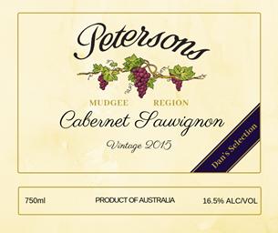 2015 Cabernet Sauvignon - Dan's Selection