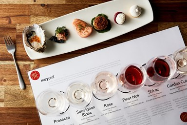 Matched Food and Wine Experience for One