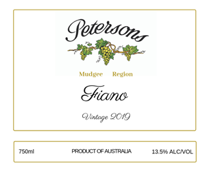 2019 Fiano - Mudgee