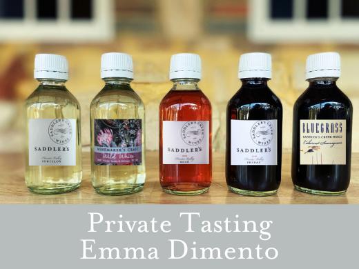 Private Tasting - Emma Dimento