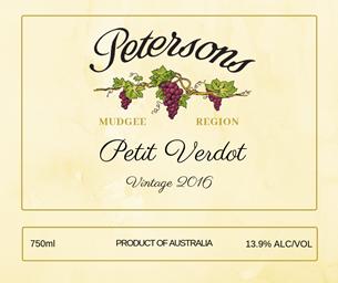2016 Petit Verdot - Mudgee