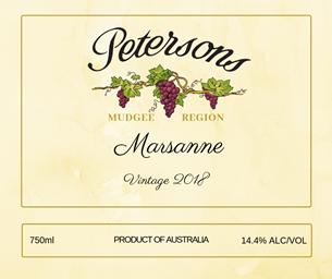 2018 Marsanne - Mudgee