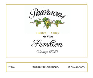 2019 Semillon - Mt View, Hunter Valley