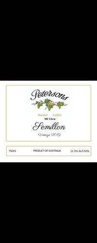 2019 Semillon - Mt View, Hunter Valley