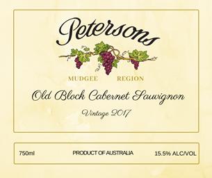 2017 Old Block Cabernet Sauvignon - Mudgee