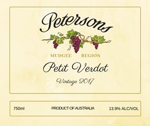 2017 Petit Verdot - Mudgee