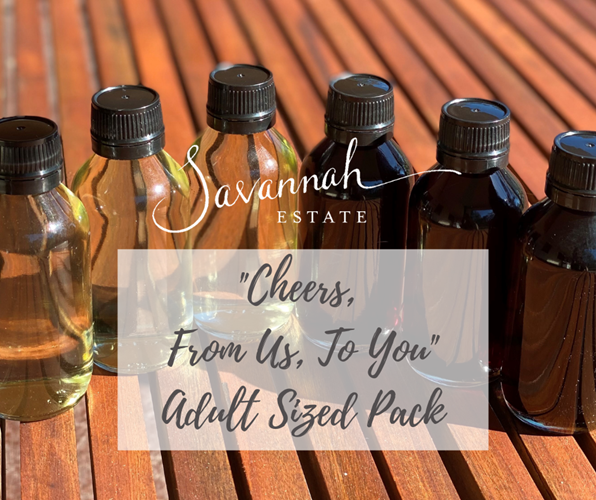 """""""Cheers, from us to you"""" Adult Sized Pack"""