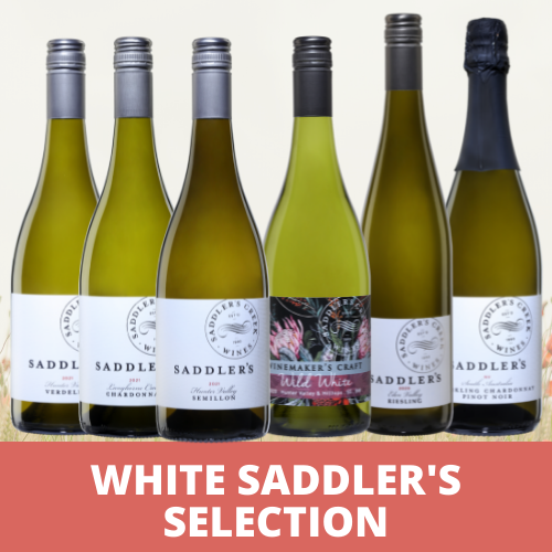 White Saddler's Selection - $149.00 (RRP $184.00)