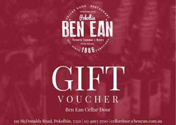 Ben Ean Gift Card