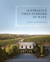 Book - Australia's First Families of Wine