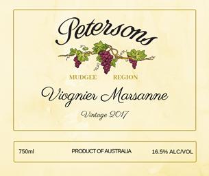 2017 Viognier Marsanne